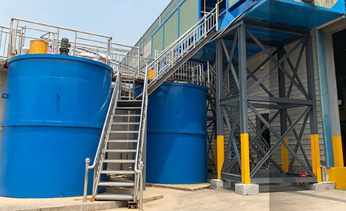 浙江湖州时产1400吨砂石骨料生产线-新型洗砂污水设备制造商成功案例